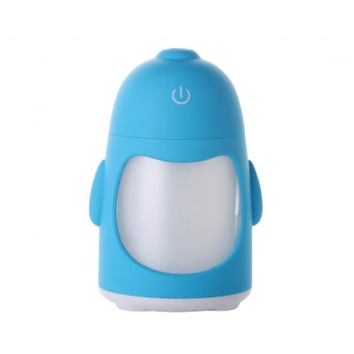 7 Colors Change Mini Air Humidifier Blue