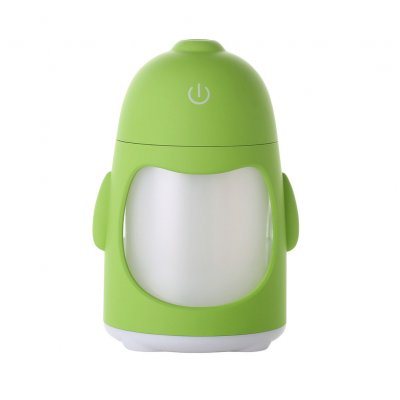7 Colors Change Mini Air Humidifier Green