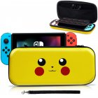 Cute Cartoon Travel Case Bag Carrying Case for Nintend Switch Pikachu