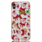 Cute Cell Phone Case Christmas Gifts TPU Soft Phone Shell for iPhone XS Max
