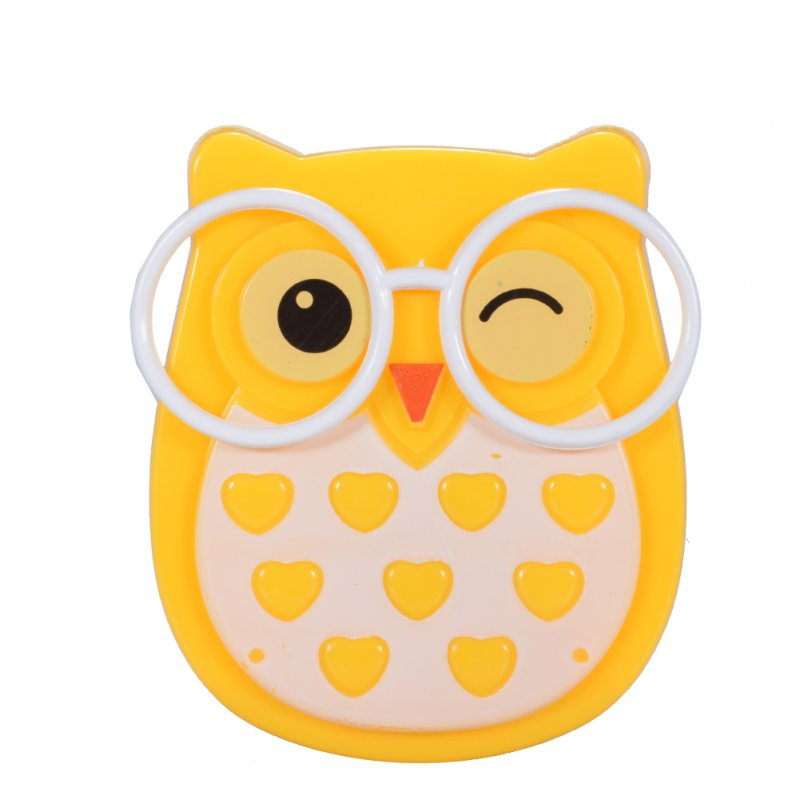 Cute Creative LED Owl Night Lamp Light Sensor Christmas Halloween Festival Gift Decoration Wall Lamp US Specification Plug