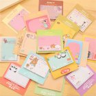 Cute Notepad Cartoon Sticky Note for Notebook School Supplies