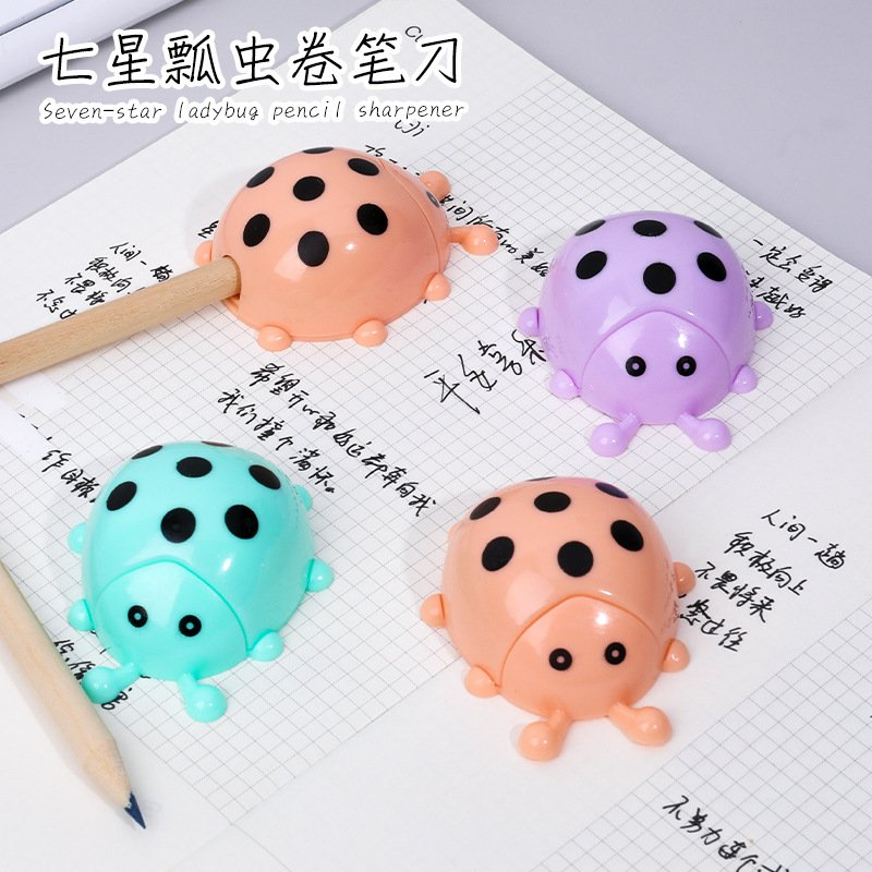 Cute Shape Pencil Sharpener  for Home Classroom Office Kids Students Stationery Color randomly