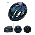 Cycling Helmet Ultralight Breathable Racing MTB Road Bike Helmet Safety Cap Man Women Aurora Blue_L