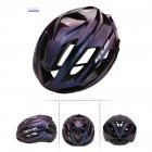 Cycling Helmet Ultralight Breathable Racing MTB Road Bike Helmet Safety Cap Man Women Aurora Violet_L