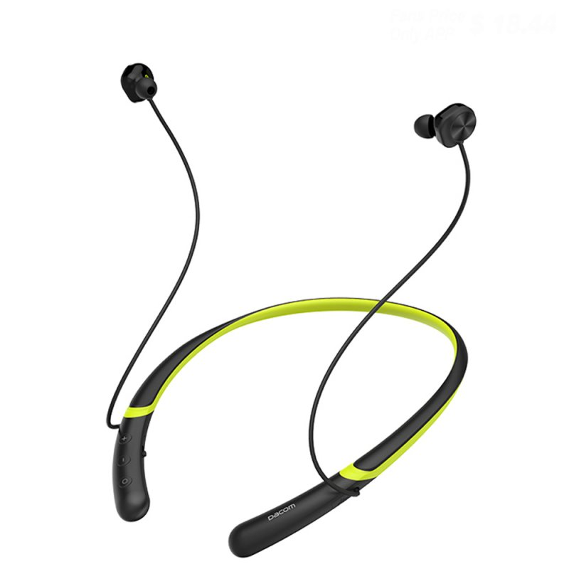 DACOM L02 Dual Drivers Headphone Dark Green