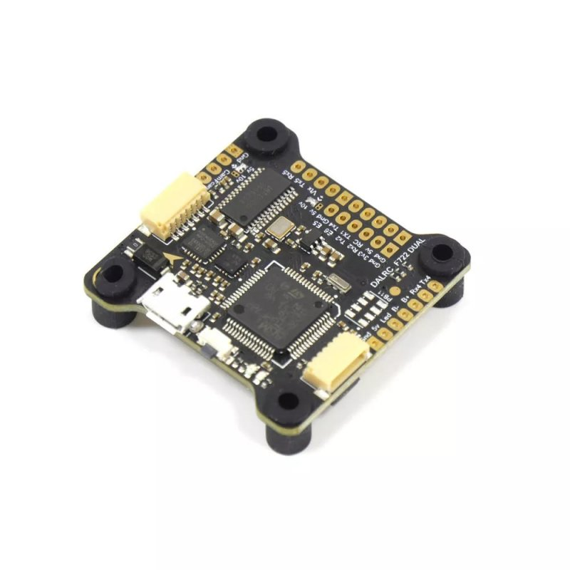 DALRC F722 DUAL STM32F722RGT6 F7 Flight Controller MPU6000 and ICM20602 Built-in OSD for RC Drone F722 DUAL Flight Controller