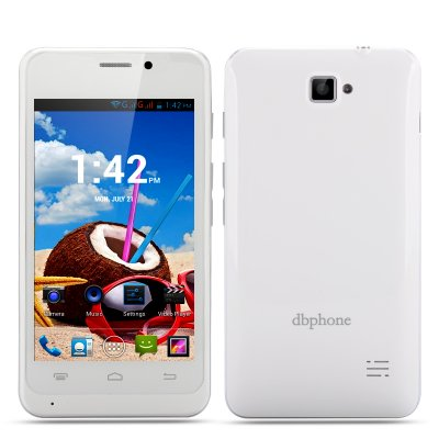 DBphone DB003+ Android 4.2 Smartphone (White)
