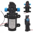 DC 12V 60W Mini Micro Diaphragm High Pressure Water Pump Automatic Switch 5L/min(Black Color) 0142YB-12-60
