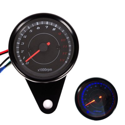 Motorcycle Tachometer Modified LED Display Ga