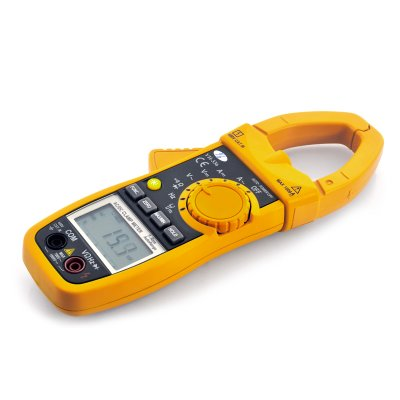 DC AC Clamp Multimeter w/ True AC RMS