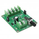 DC7-12V Brushless Optical Drive Hard Disk Motor Driver Speed Control Board green