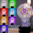 DIY LED Diamond Painting Night Light Gradient 3D Butterfly Home Decoration DP08