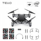 DJI Tello EDU Boost Combo Mini Drone Perform Flying Stunts Shoot Video with EZ Shots Toy Plane 3 battery