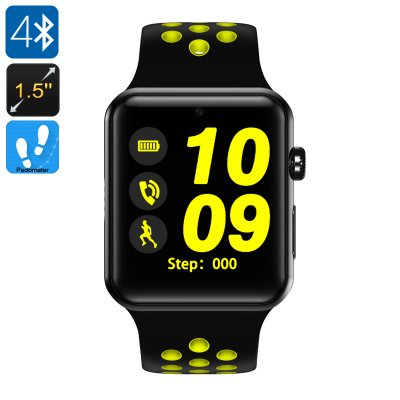 DM09 Plus Smart Watch Phone (Yellow +Black)