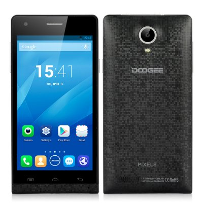 DOOGEE PIXELS DG350 Android 4.2 Phone (Black)