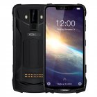 Original DOOGEE S90 Pro IP68/IP69K Rugged Mobile Phone Android 9.0 Smartphone 6.18'' FHD+ Display Helio P70 Octa Core 6GB 128GB 16MP Cam black_Non-European