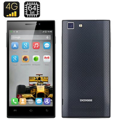 DOOGEE TURBO-Mini F1 Smartphone (Black)