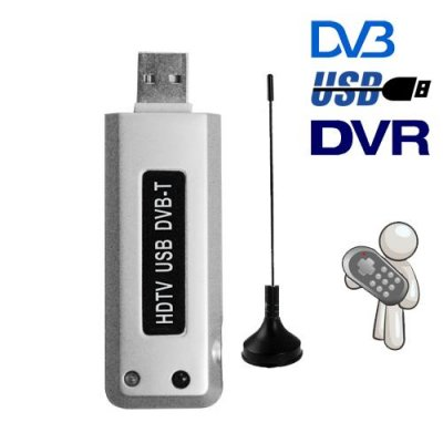 DVB-T USB Dongle - Watch and Record Digital TV