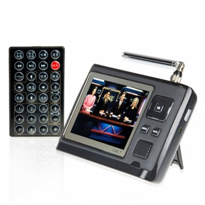 Portable DVB-T Tuner + Digital Media Player