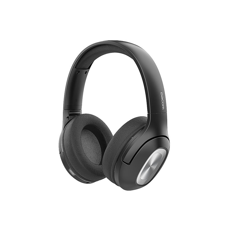 Original DACOM HF002 Wireless Headphone - Black