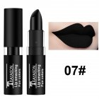 Dark Lipstick White Nude Color Vampire Olive Green Black Purple Halloween Retro Creative Makeup 7# black