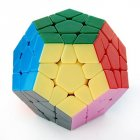 Dayan Megaminx I Stickerless Speed Cube Puzzle 12 axis 3 rank Dodecahedron without Ridges