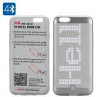 300 LED Programmable Smartphone Case (Silver)