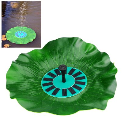 Solar Powered Decorative Fountain