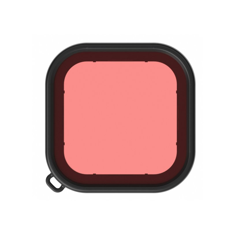 Deep Diving Lens Filters for Gopro Hero 8 Waterproof Housing Case Filter Kit Camera Accessories  pink