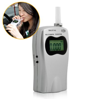 Breathalyzer Alcohol Tester Deluxe