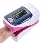 Digital Finger Oximeter Pink