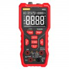 Digital Multimeter Professional 9999 Tester Thermocouple Kit Va Display Screen High configuration red