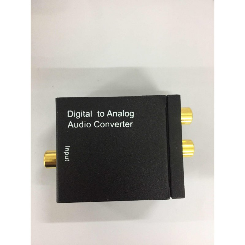 Analog RCA L/R Audio Converter Adapter