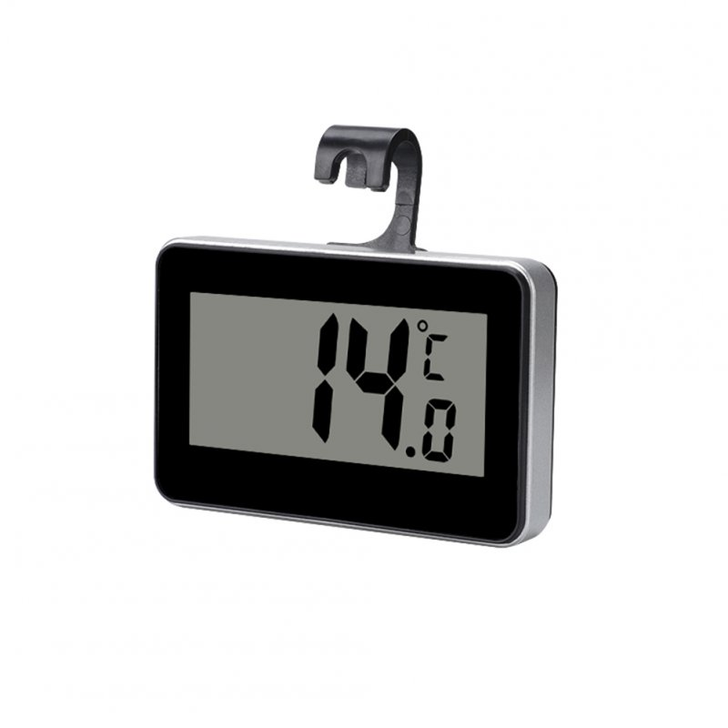 Digital Refrigerator Freezer Room Thermometer With Hanging Hook High Accuracy Meter