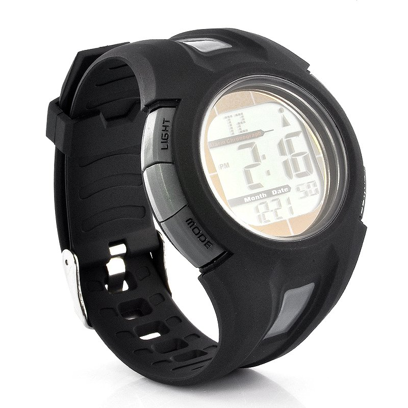 Automatic Time Adjustment Sports Watch