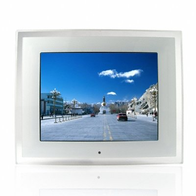 10.2 Inch Home Digital Photo Frame - Multi-Card Reader