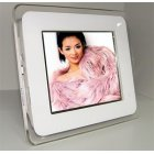 8-inch Digital Photo Frame with Speaker 6-in-1 Card Reader