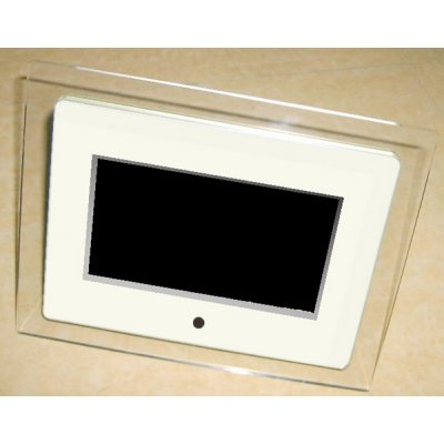 7-inch Digital Photo Frame With Video Playback