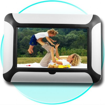 TFT 8 Inch Digital Picture Frame - Flash + Card Memory