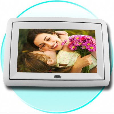DivX Digital Photo Frame - Multi Card Reader