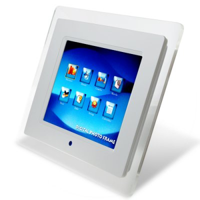 8 Inch Digital Photo Frame - Picture + Video + Music + Bluetooth