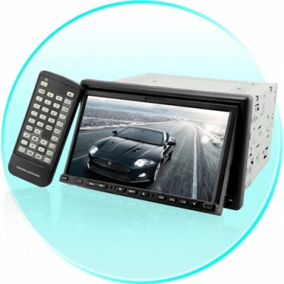Double DIN 7 Inch Touchscreen LCD
