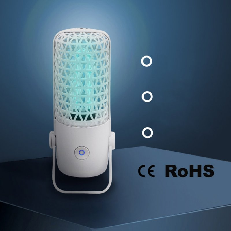 Disinfection Lamp UVC Household LED Ultraviolet Germicidal Fast Sterilization Light for Travel