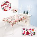 Disposable Christmas Series Rectangular Printed PVC Cartoon Tablecloth 110*180cm  F red fruit