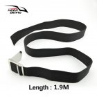 Diving Belt Diving Heavy Belt Lead Block Weight Belt Swimming Diving Accessories  Black 1.9 m