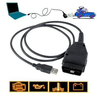 VAG-COM Tacho OBD-II Interface Cable