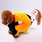 Dog Puppy Moving Pumpkin Funny Pet Dresses Costume for Halloween  XL