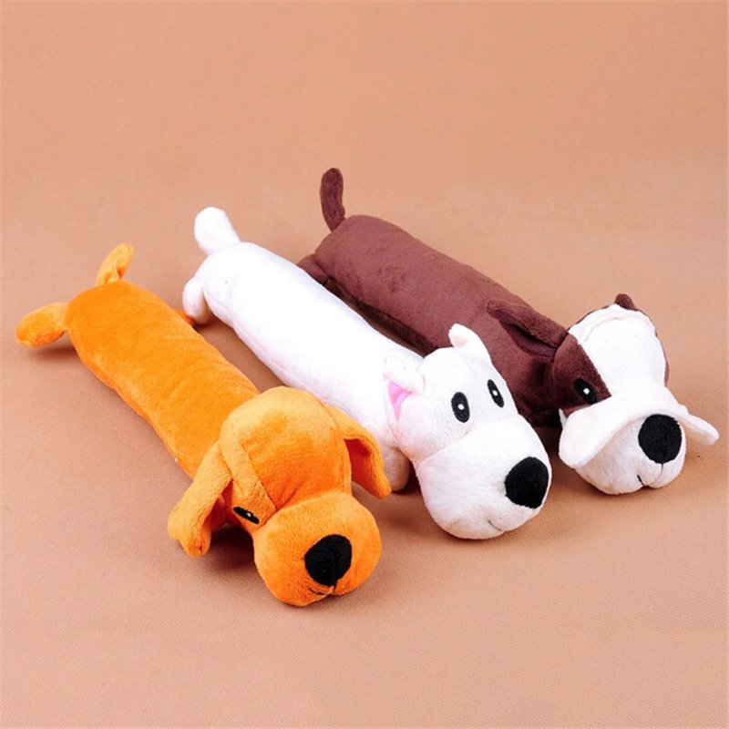 Dog's Toys Plush Simulation Cute Sound Toys Puppy Dolls for Dog Playing Random delivery