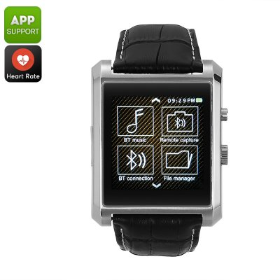 Domino DM08 Bluetooth Watch (Silver)